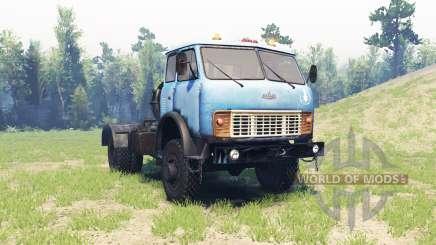 MAZ 509 para Spin Tires