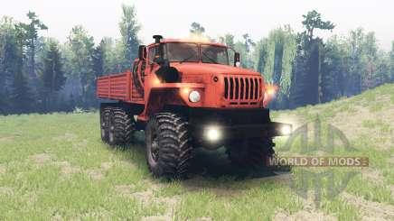 Ural 4320-41 para Spin Tires