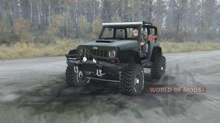 Jeep Wrangler Renegade (JK) para MudRunner