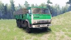 KamAZ 5320 para Spin Tires