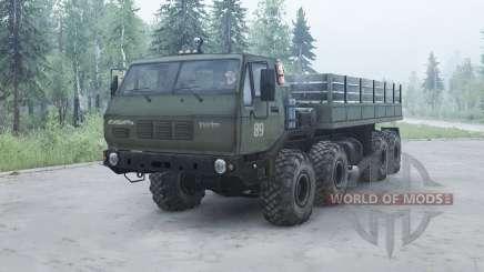 KrAZ 7Э6316 Siberia para MudRunner