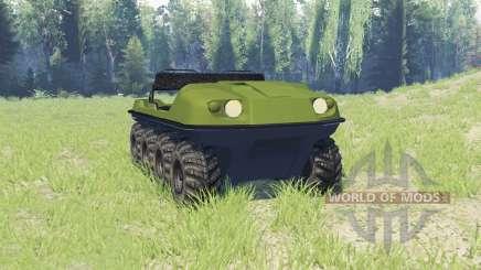 Argo Avenger para Spin Tires