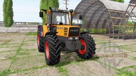 Fendt Favorit 511C Turbomatic kommunal para Farming Simulator 2017
