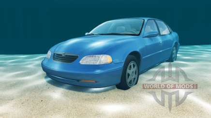 Ibishu Pessima waterproof v1.201 para BeamNG Drive