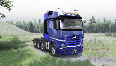 Mercedes-Benz Actros 4163 SLT (MP4) para Spin Tires