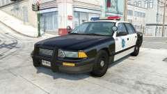 Gavril Grand Marshall san francisco police v1.1 para BeamNG Drive