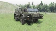 GAZ 3937 Vodnik v2.0 para Spin Tires