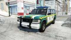 Gavril Roamer spanish police v3.6.1 para BeamNG Drive