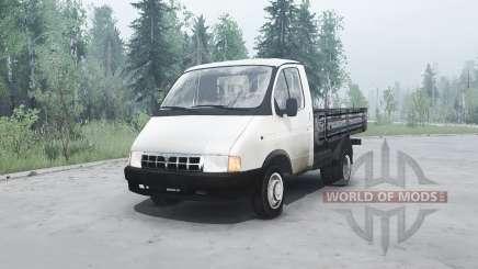 GAS 3302 Gacela para MudRunner