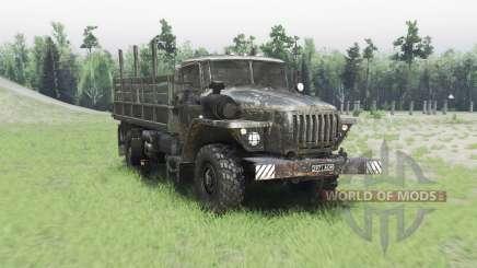 Ural 43206 v2.2.5 para Spin Tires