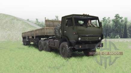 KamAZ 4410 para Spin Tires