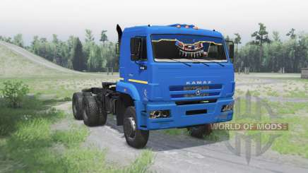 KamAZ 6522 v1.Uno para Spin Tires