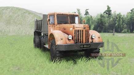 MAZ 205 para Spin Tires