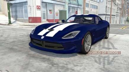 Dodge SRT Viper GTS 2013 para BeamNG Drive