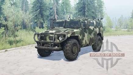 GAS 2330 Tigre v1.2 para MudRunner