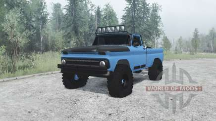 Chevrolet C10 PreRunner para MudRunner