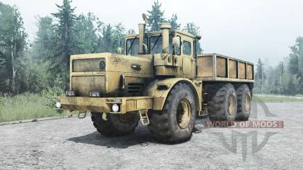 Kirovets K 701M 6x6 para MudRunner