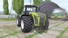 CLAAS Xerion 5000 Trac VC para Farming Simulator 2017
