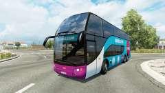 Bus traffic v1.8.2 para Euro Truck Simulator 2