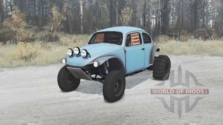 Volkswagen Beetle 1968 PreRunner para MudRunner