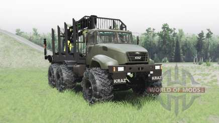 Kraz M16.1X para Spin Tires