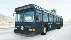 Wentward DT40L prison bus para BeamNG Drive