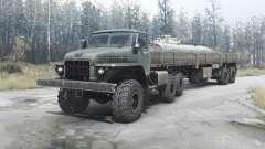 Ural 377Н para MudRunner