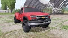 Chevrolet Silverado Regular Cab duramax 2004 para Farming Simulator 2017