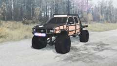 Toyota Hilux Double Cab 1996 extreme para MudRunner