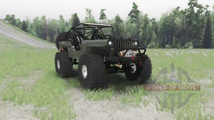 Jeep Willys MB custom para Spin Tires