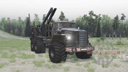 El Ural Polar 4320-41 para Spin Tires