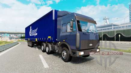 Russian traffic pack v2.3 para Euro Truck Simulator 2