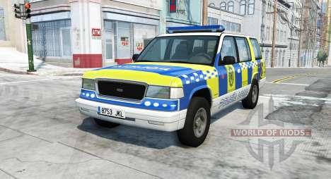 Gavril Roamer spanish police v3.7 para BeamNG Drive