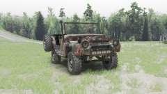 UAZ 469 oxidado