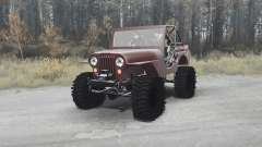 Jeep CJ-5 1954 para MudRunner
