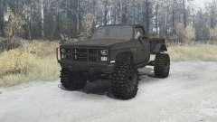 Chevrolet K5 Blazer M1008 para MudRunner