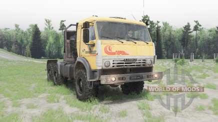 KamAZ-53504 v1.Siete para Spin Tires