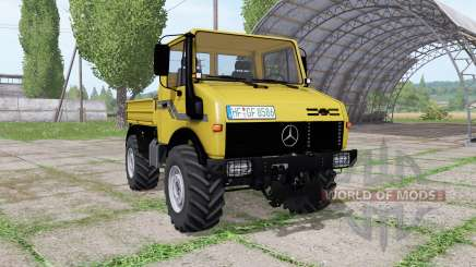 Mercedes-Benz Unimog U2100 v3.1 para Farming Simulator 2017