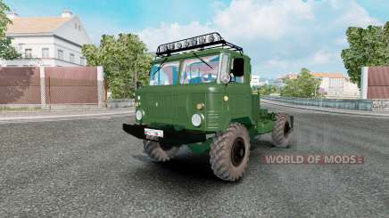 GAZ 66 para Euro Truck Simulator 2