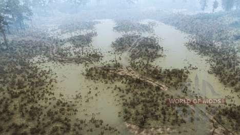 La fuerza del río para Spintires MudRunner