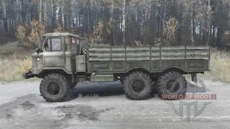 El GAS-34 experimentado 1964 para Spintires MudRunner