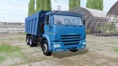 2009 KAMAZ 6520 para Farming Simulator 2017