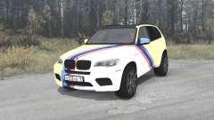 BMW X5 M (E70) Smotra Run 2013 para MudRunner