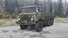 El GAS-34 experimentado 1964 v2.0 para MudRunner