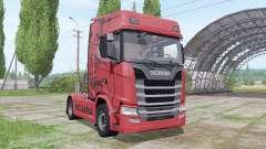 Scania S 680 V8 2016 para Farming Simulator 2017