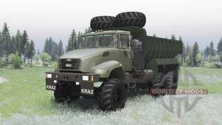 Kraz 65032 2012 para Spin Tires