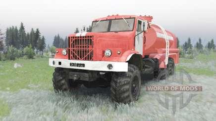 KrAZ 255B AC 8.5 para Spin Tires