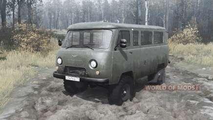 UAZ 2206 1985 para MudRunner