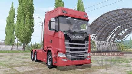 Scania S 730 V8 2016 para Farming Simulator 2017