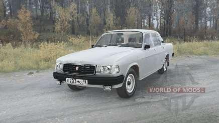 GAZ Volga (31029) 1991 v1.1 para MudRunner